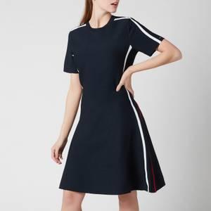 Tommy Hilfiger Women's Colourblock F&F Short Dress - Desert Sky