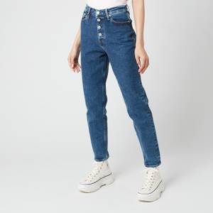 Calvin Klein Jeans Women's Mom Jeans - Denim Dark