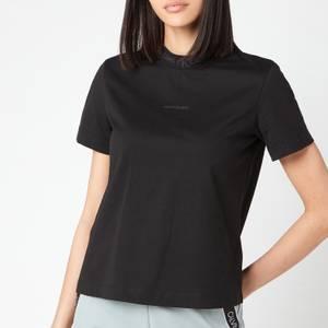 Calvin Klein Jeans Women's Logo Intarsia T-Shirt - CK Black