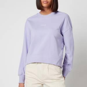 Calvin Klein Jeans Women's Micro Branding Sweatshirt - Palma Lilac