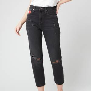 Tommy Jeans Women's Izzy Hr Slim Ankle Jeans - Save SP BK