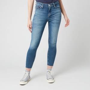 Tommy Jeans Women's Nora Mr Skinny Ankle Jeans - Arden MB STR