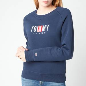 Tommy Jeans Women's TJW Bxy Timeless Sweatshirt - Twilight Navy
