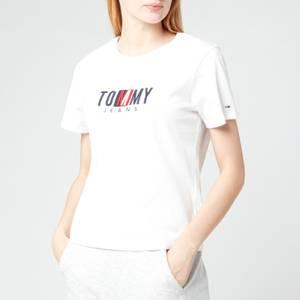 Tommy Jeans Women's TJW Regular Timeless Box T-Shirt - White