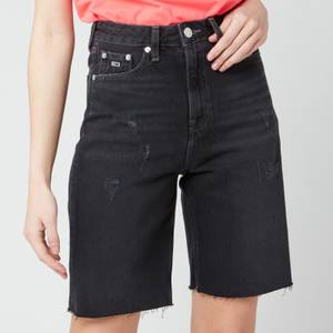 Tommy Jeans Women's Harper Denim Bermuda Shorts - Save SP BK