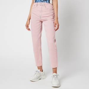 Tommy Jeans Women's Ultra Hr Tapered Mom Jeans - Pink Daisy