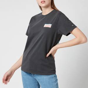 Tommy Jeans Women's TJW Relaxed New York Back Print T-Shirt - Black