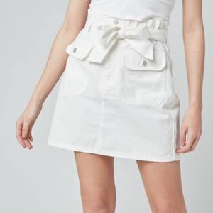 Tommy Jeans Women's TJW Utility Mini Skirt - White