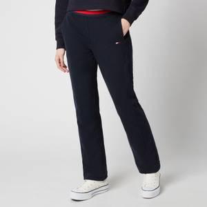 Tommy Sport Women's Regular Global Stripe Pants - Desert Sky