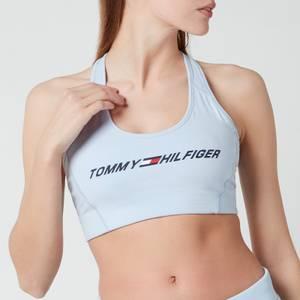 Tommy Sport Women's Light Intensity Graphic Bra - Sweet Blue