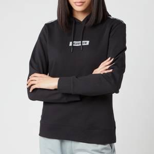Calvin Klein Performance Women's Small Logo Hoodie - CK Black