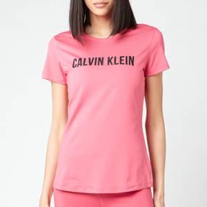 Calvin Klein Performance Women's Short Sleeve Logo T-Shirt - City Pink