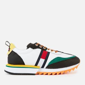Tommy Jeans Men's Fashion Colour Mix Running Style Trainers - Solar Flare