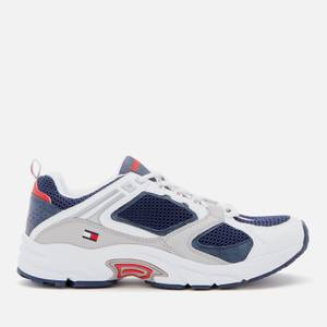 Tommy Jeans Men's Archive Mesh Running Style Trainers - Twilight Navy