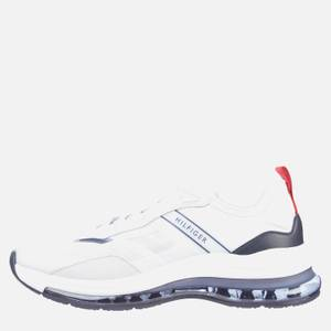Tommy Hilfiger Men's Air Runner Mix Trainers - Red/White/Blue
