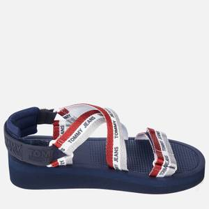 Tommy Jeans Women's Webbing Strappy Sandals - Twilight Navy
