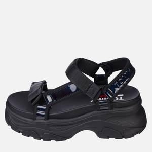 Tommy Jeans Women's Iridescent Hybrid Sandals - Black