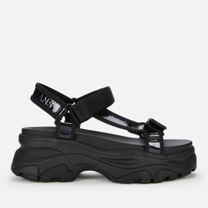 Tommy Jeans Women's Iridescent Hybrid Sandals - Black