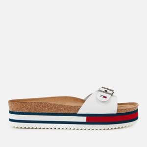 Tommy Jeans Women's Flag Outsole Mule Sandals - White