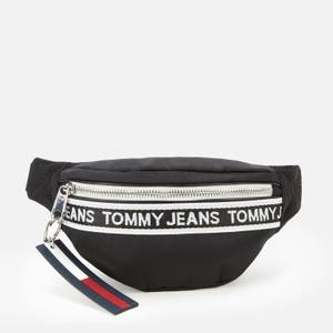 Tommy Jeans Women's Mini Logo Tape Bumbag - Black
