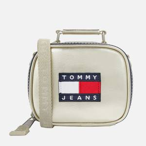 Tommy Jeans Women's Heritage Metallic Nano Bag - Silver