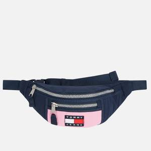 Tommy Jeans Women's Heritage Bumbag Canvas - Pink Daisy