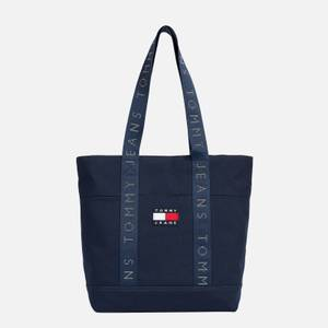 Tommy Jeans Women's Heritage Canvas Tote Bag - Twilight Navy
