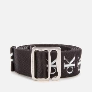 Calvin Klein Jeans Women's Slider Tape Belt 30mm - Black