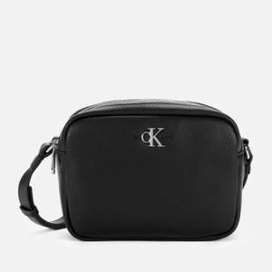 Calvin Klein Jeans Women's Double Zip Cross Body Bag - Black