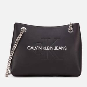 Calvin Klein Jeans Women's Shoulder Bag - Black