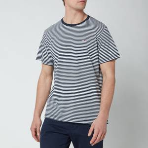 Tommy Jeans Men's Classic Slim Fit Stripe T-Shirt - Twilight Navy