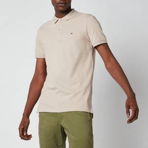 Tommy Jeans Men's Classic Slim Fit Stretch Polo Shirt - Soft Beige