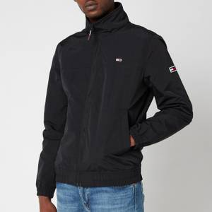 Tommy Jeans Men's Essential Casual Bomber Jacket - Black