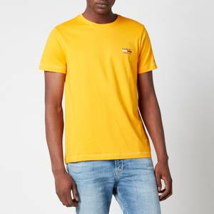 Tommy Jeans Men's Chest Logo T-Shirt - Florida Orange