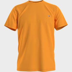 Tommy Jeans Men's Classic Logo T-Shirt - Florida Orange