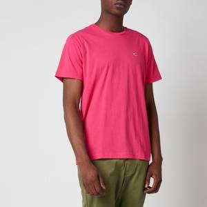 Tommy Jeans Men's Classic Logo T-Shirt - Bright Cerise Pink