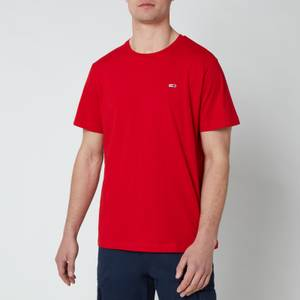 Tommy Jeans Men's Classic Logo T-Shirt - Deep Crimson