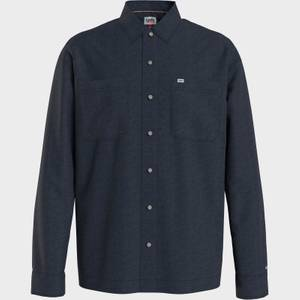 Tommy Jeans Men's Lightweight Twill Overshirt - Twilight Navy