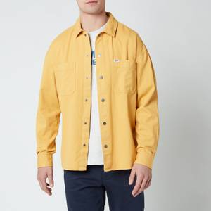 Tommy Jeans Men's Lightweight Twill Overshirt - Dusty Gold