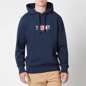 Tommy Jeans Men's Timeless Logo 2 Hoodie - Twilight Navy