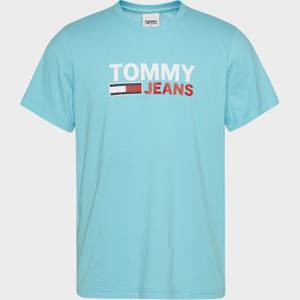 Tommy Jeans Men's Corporation Logo T-Shirt - Chlorine Blue