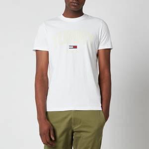 Tommy Jeans Men's Shadow Print Logo T-Shirt - White