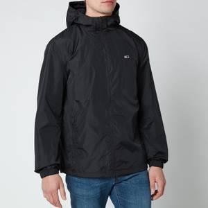 Tommy Jeans Men's Packable Windbreaker Jacket - Black