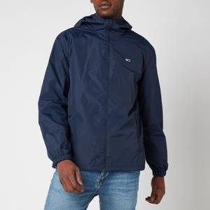 Tommy Jeans Men's Packable Windbreaker Jacket - Twilight Navy