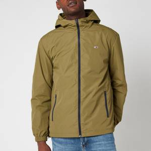 Tommy Jeans Men's Packable Windbreaker Jacket - Uniform Olive