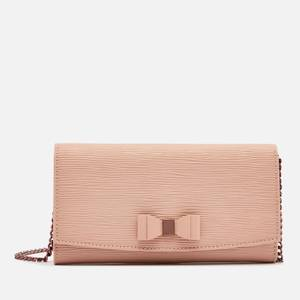 Ted Baker Women's Zea Bow Detail Cross Body Matinee Purse - Taupe