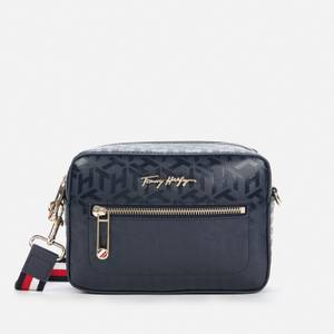 Tommy Hilfiger Women's Iconic Monogram Camera Bag - Desert Sky