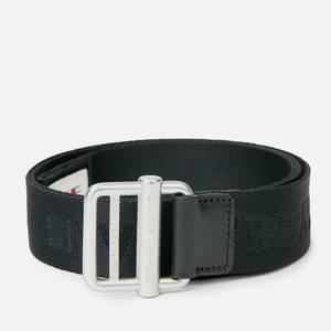 Tommy Jeans Men's Essential Webbing 3.5 Belt - Black