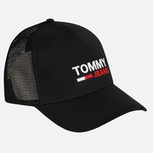 Tommy Jeans Men's Flag Trucker Cap - Black