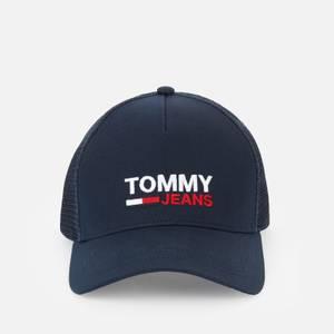 Tommy Jeans Men's Flag Trucker Cap - Twilight Navy